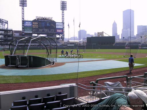 Seat view from section 14 at PNC Park, home of the Pittsburgh Pirates