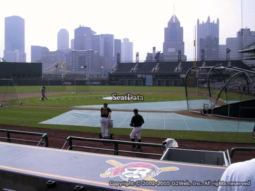 Seat view from section 20 at PNC Park, home of the Pittsburgh Pirates