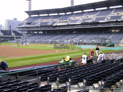 Seat view from section 26 at PNC Park, home of the Pittsburgh Pirates