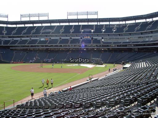 Seat view from section 11 at Globe Life Park in Arlington, home of the Texas Rangers