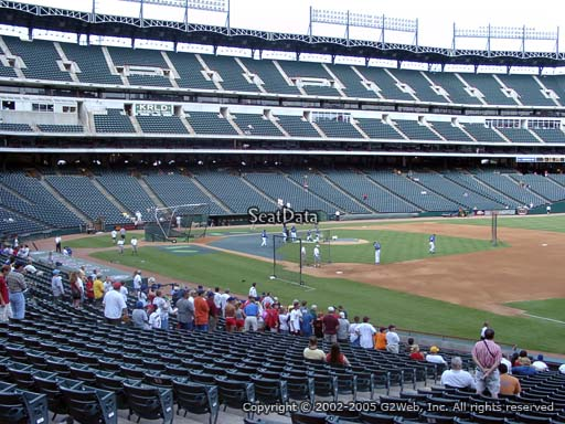 Seat view from section 37 at Globe Life Park in Arlington, home of the Texas Rangers