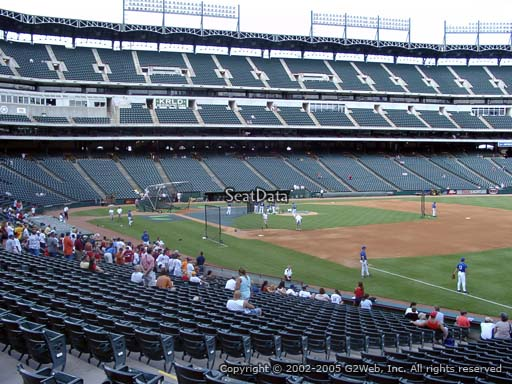 Seat view from section 38 at Globe Life Park in Arlington, home of the Texas Rangers