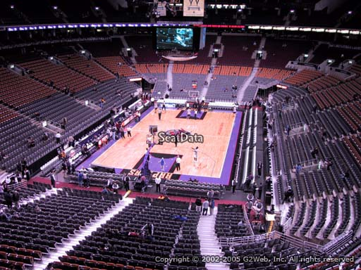 Seat view from section 314 at Scotiabank Arena, home of the Toronto Raptors