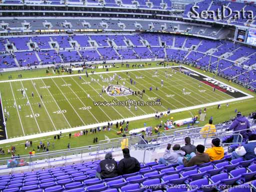 Seat View from Section 503 at M&T Bank Stadium   Baltimore ...