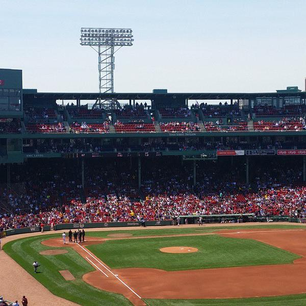 Breakdown Of The Fenway Park Seating Chart Boston Red Sox