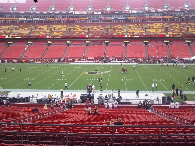 Fedex Field, Home of the Washington Redskins