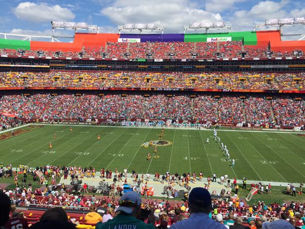 Fedex Field Panorama