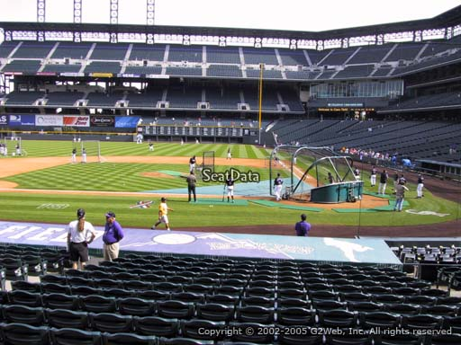 Seat view from section 136 at Coors Field, home of the Colorado Rockies