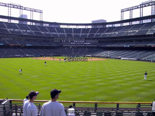 Seat view from section 160 at Coors Field, home of the Colorado Rockies
