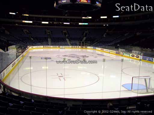 Seat view from section 100 at KeyBank Center, home of the Buffalo Sabres