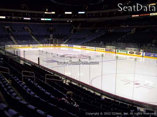 Seat view from section 102 at KeyBank Center, home of the Buffalo Sabres