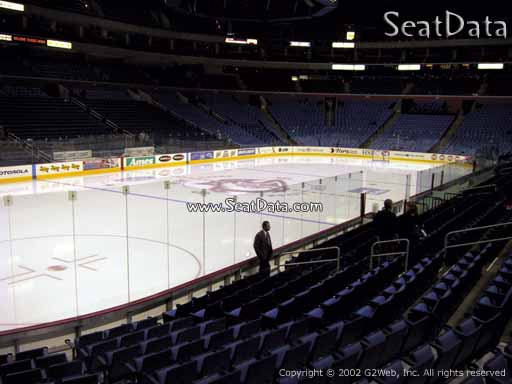 Seat view from section 108 at KeyBank Center, home of the Buffalo Sabres