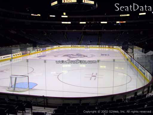 Seat view from section 110 at KeyBank Center, home of the Buffalo Sabres