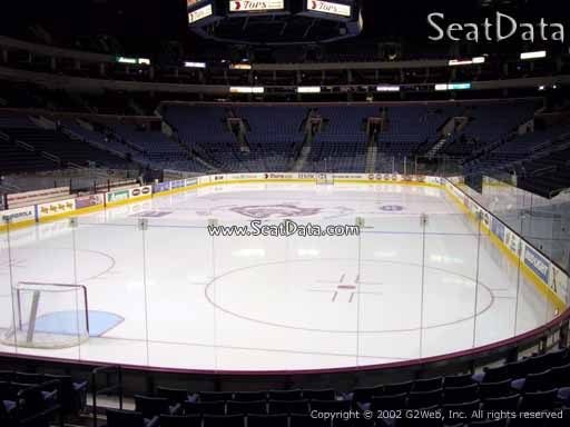 Seat view from section 122 at KeyBank Center, home of the Buffalo Sabres