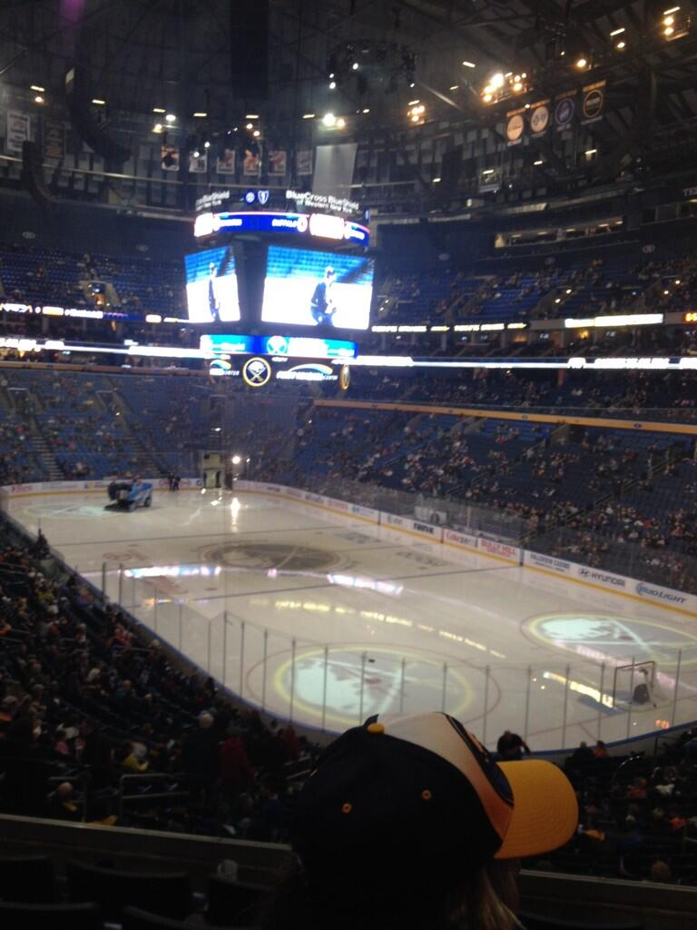 Seat view from section 202 at KeyBank Center, home of the Buffalo Sabres