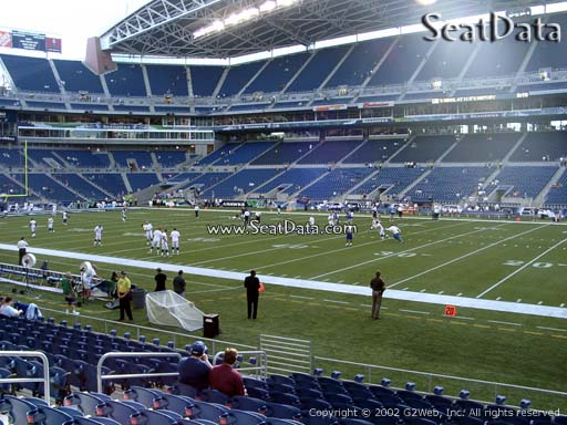 Seat view from section 106 at CenturyLink Field, home of the Seattle Seahawks
