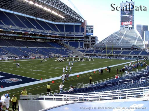 Seat view from section 116 at CenturyLink Field, home of the Seattle Seahawks