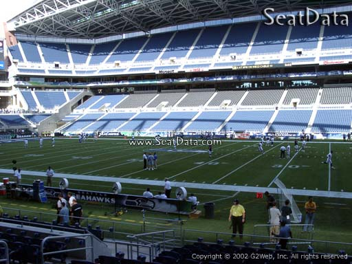 Seat View from Section 133 at CenturyLink Field | Seattle Seahawks