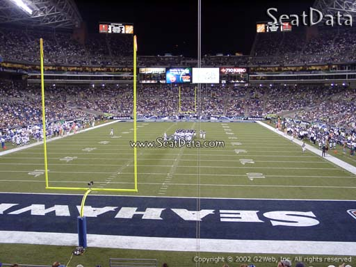 Seat view from section 146 at CenturyLink Field, home of the Seattle Seahawks