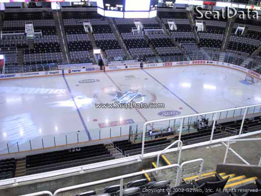 Seat view from section 216 at the SAP Center at San Jose, home of the San Jose Sharks