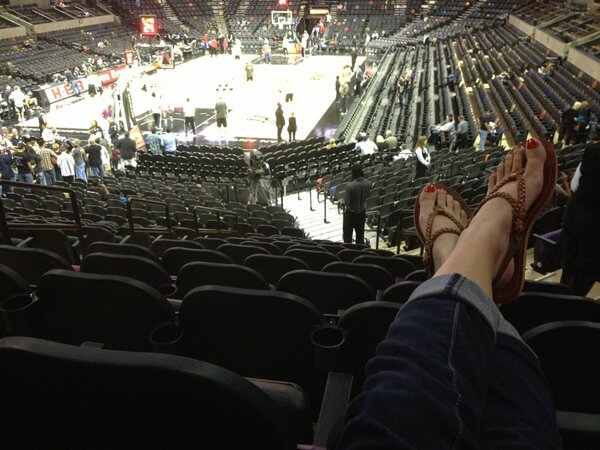 Seat view from Section 112 at the AT&T Center, home of the San Antonio Spurs