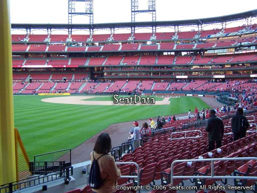 Seat view from section 169 at Busch Stadium, home of the St. Louis Cardinals