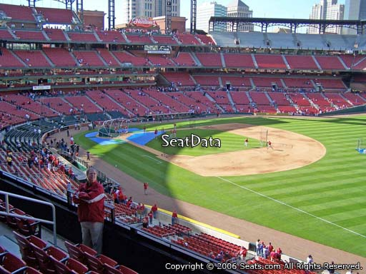 Seat view from section 235 at Busch Stadium, home of the St. Louis Cardinals