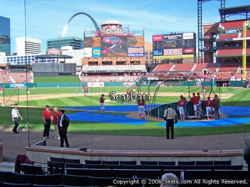 Seat view from section 6 at Busch Stadium, home of the St. Louis Cardinals