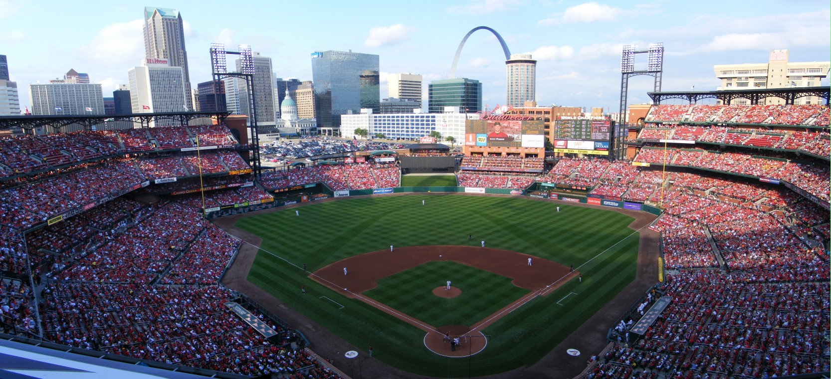 View from the Terrace Level Seats at Busch Stadium