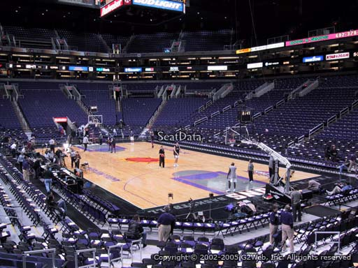 Seat view from section 122 at Talking Stick Resort Arena, home of the Phoenix Suns