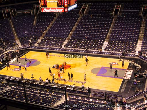 Seat view from section 201 at Talking Stick Resort Arena, home of the Phoenix Suns