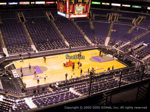 Seat view from section 205 at Talking Stick Resort Arena, home of the Phoenix Suns