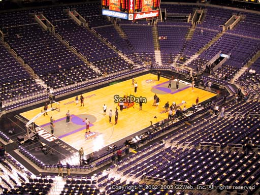 Seat view from section 207 at Talking Stick Resort Arena, home of the Phoenix Suns