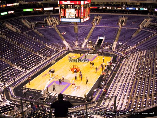 Seat view from section 209 at Talking Stick Resort Arena, home of the Phoenix Suns
