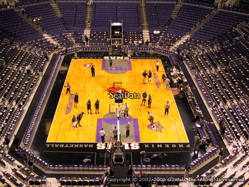 Seat view from section 211 at Talking Stick Resort Arena, home of the Phoenix Suns