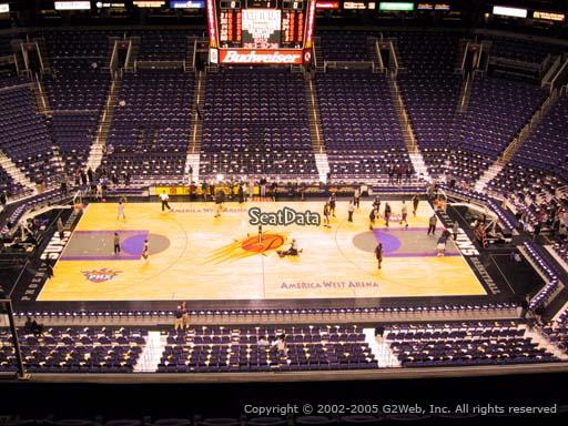 Seat view from section 219 at Talking Stick Resort Arena, home of the Phoenix Suns