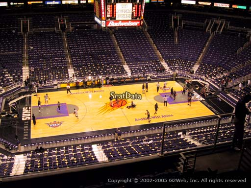 Seat view from section 220 at Talking Stick Resort Arena, home of the Phoenix Suns