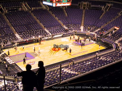 Seat view from section 222 at Talking Stick Resort Arena, home of the Phoenix Suns