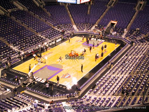 Seat view from section 224 at Talking Stick Resort Arena, home of the Phoenix Suns