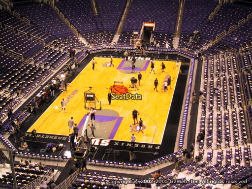 Seat view from section 226 at Talking Stick Resort Arena, home of the Phoenix Suns