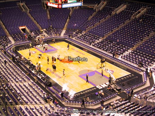 Seat view from section 230 at Talking Stick Resort Arena, home of the Phoenix Suns