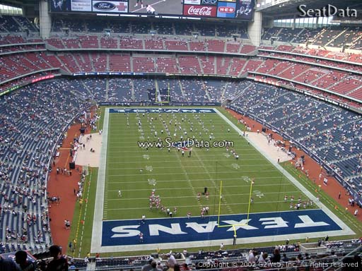 Seat view from section 649 at NRG Stadium, home of the Houston Texans