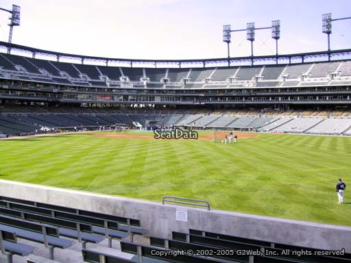 Seat view from section 101 at Comerica Park, home of the Detroit Tigers