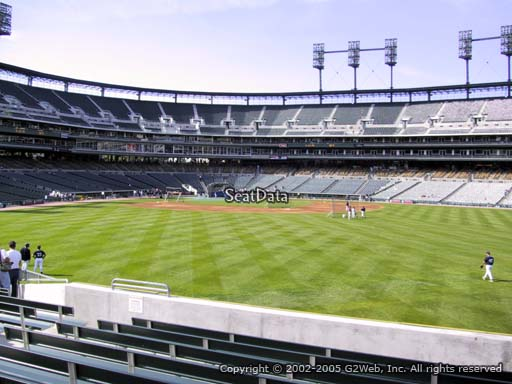 Seat view from section 102 at Comerica Park, home of the Detroit Tigers