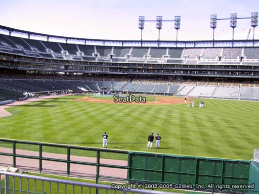 Seat view from section 104 at Comerica Park, home of the Detroit Tigers