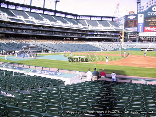 Seat view from section 119 at Comerica Park, home of the Detroit Tigers