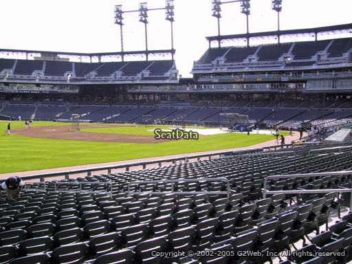 Seat view from section 139 at Comerica Park, home of the Detroit Tigers