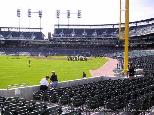 Seat view from section 146 at Comerica Park, home of the Detroit Tigers