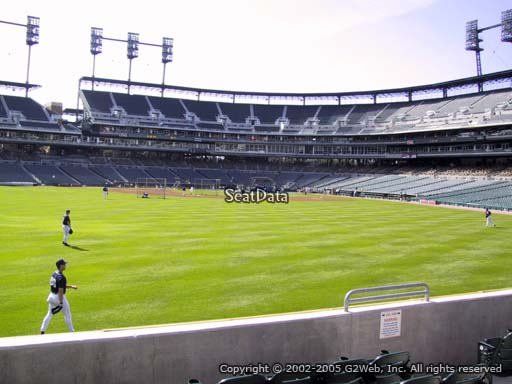 Seat view from section 151 at Comerica Park, home of the Detroit Tigers