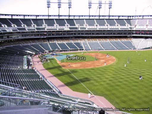 Seat view from section 211 at Comerica Park, home of the Detroit Tigers